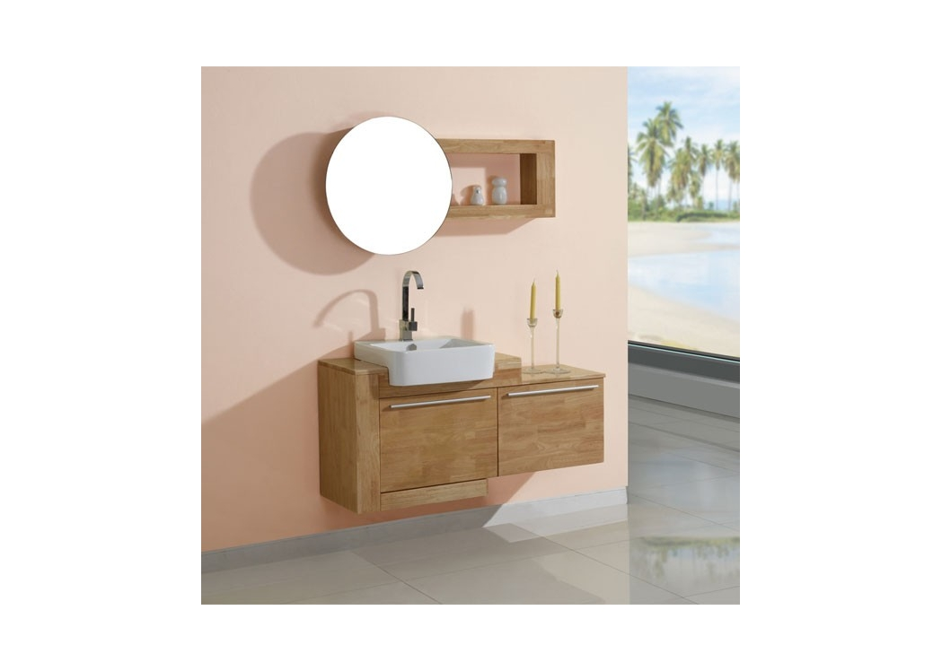 meuble salle de bain bois nature obtenez des id es de design int ressantes en. Black Bedroom Furniture Sets. Home Design Ideas