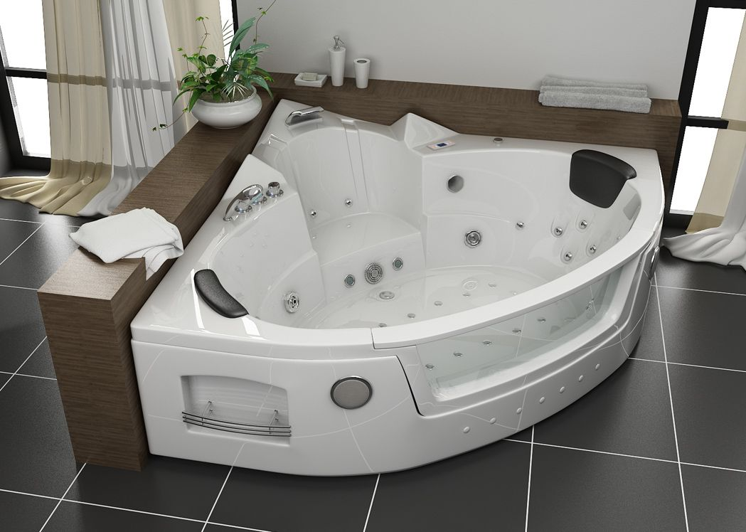 baignoire baln o d 39 angle maeva baignoire baln o d 39 angle whirlpool. Black Bedroom Furniture Sets. Home Design Ideas