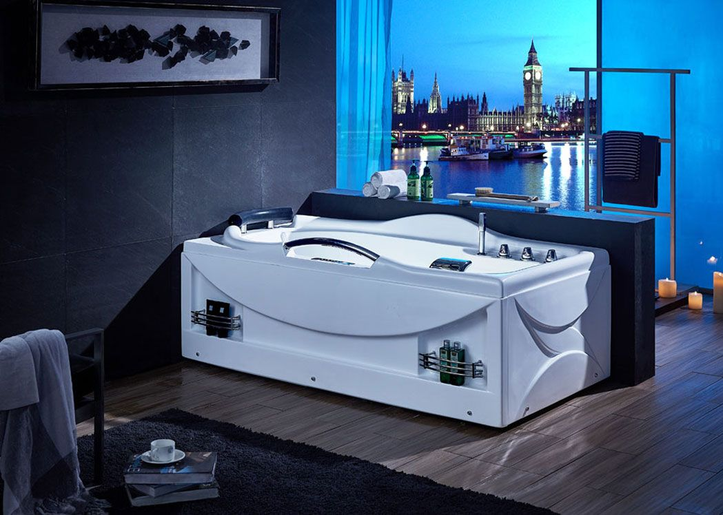 baignoire baln o rectrangulaire baignoire balneo whirlpool d bounty sur. Black Bedroom Furniture Sets. Home Design Ideas