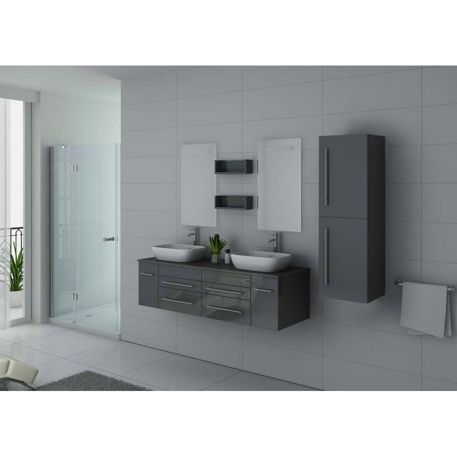cabine de douche hydromassante 22 jets blanche esperance. Black Bedroom Furniture Sets. Home Design Ideas
