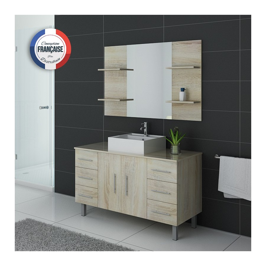 turin sc meuble salle de bain sur pieds scandinave. Black Bedroom Furniture Sets. Home Design Ideas
