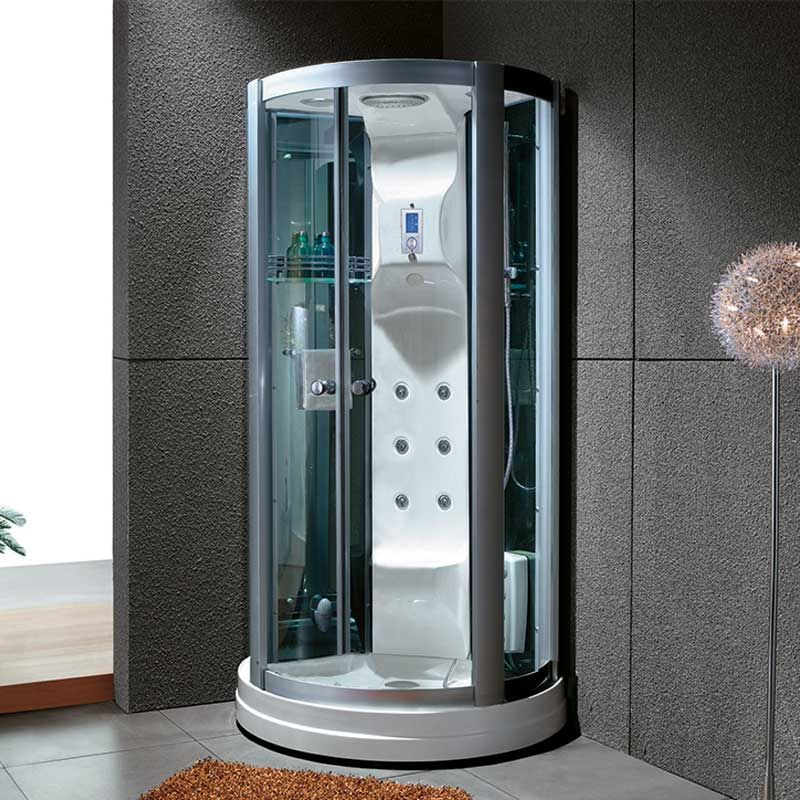 cabine de douche hydromassante cabine de douche int grale avec hammam calypso. Black Bedroom Furniture Sets. Home Design Ideas