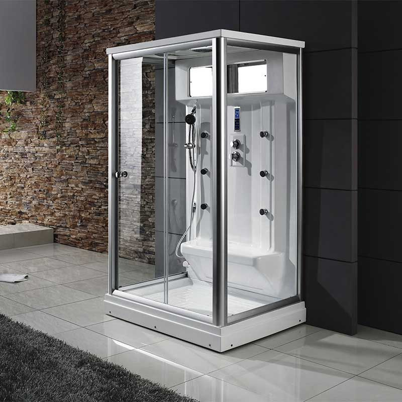 cabine de douche 2 personnes hydromassante cabine hammam 2 personnes osis. Black Bedroom Furniture Sets. Home Design Ideas