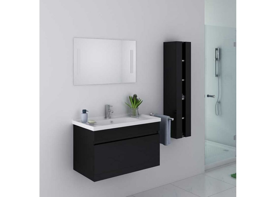 meuble salle de bain 1 vasque dis800an meuble salle de. Black Bedroom Furniture Sets. Home Design Ideas