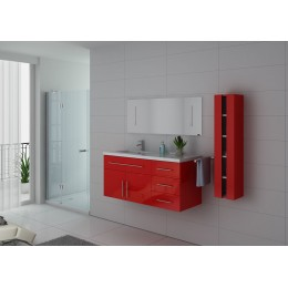 Meuble salle de bain simple vasque Coquelicot URBAN CO
