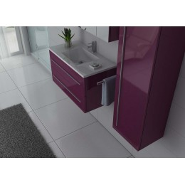 NOVA AU ensemble simple vasque Aubergine gloss