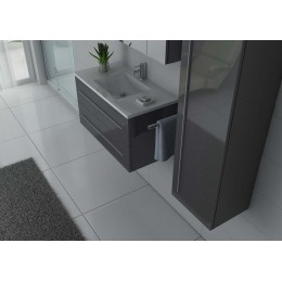 NOVA GT Meuble simple vasque Gris Taupe