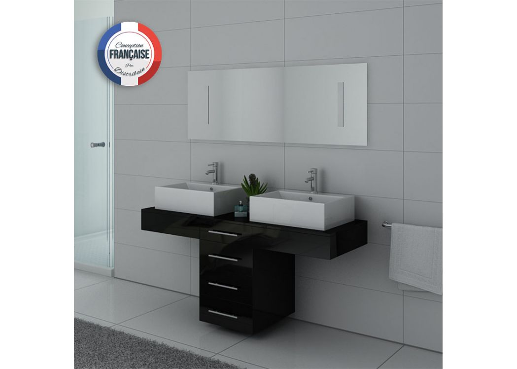 meuble de salle de bain 2 vasques meuble salle de bain. Black Bedroom Furniture Sets. Home Design Ideas