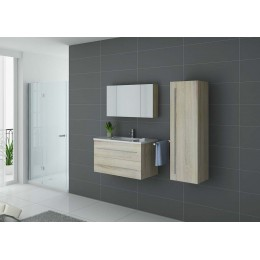 Ensemble salle de bain simple vasque Scandinave NOVA SC