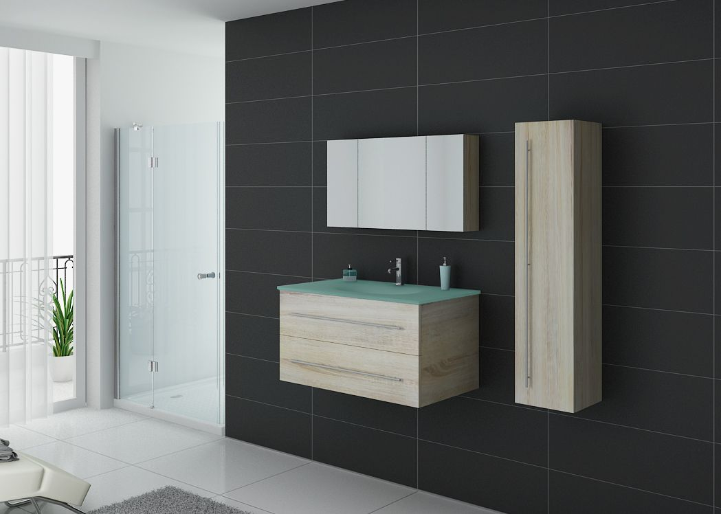 meuble salle de bain bois scandinave. Black Bedroom Furniture Sets. Home Design Ideas
