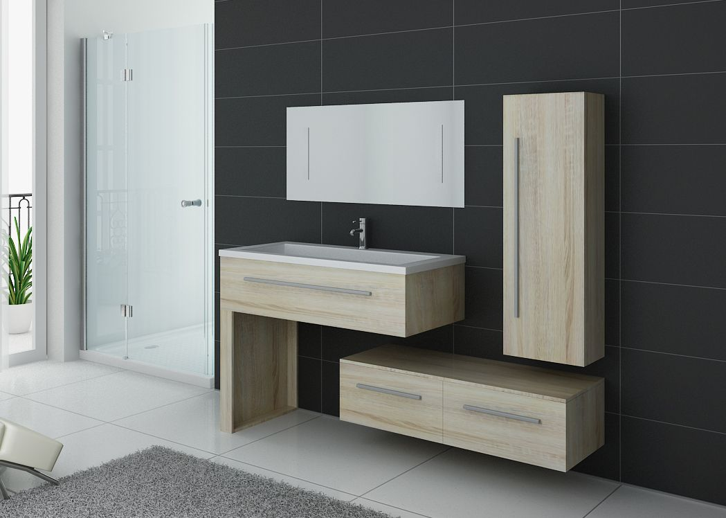 meuble simple vasque meuble de salle de bain scandinave dis9251sc. Black Bedroom Furniture Sets. Home Design Ideas