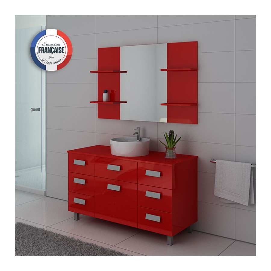 imperial co meuble salle de bain sur pieds coquelicot. Black Bedroom Furniture Sets. Home Design Ideas