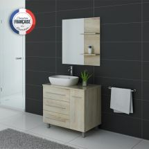 TOSCANE SC Meuble salle de bain simple vasque Scandinave