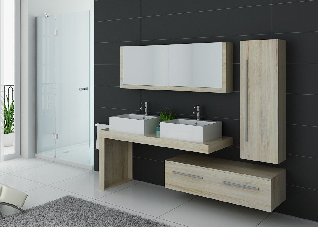 ensemble meubles salle de bain meubles salle de bain bois scandinave dis9350sc. Black Bedroom Furniture Sets. Home Design Ideas