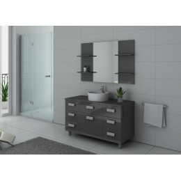 IMPERIAL GT Ensemble salle de bain simple vasque Gris Taupe