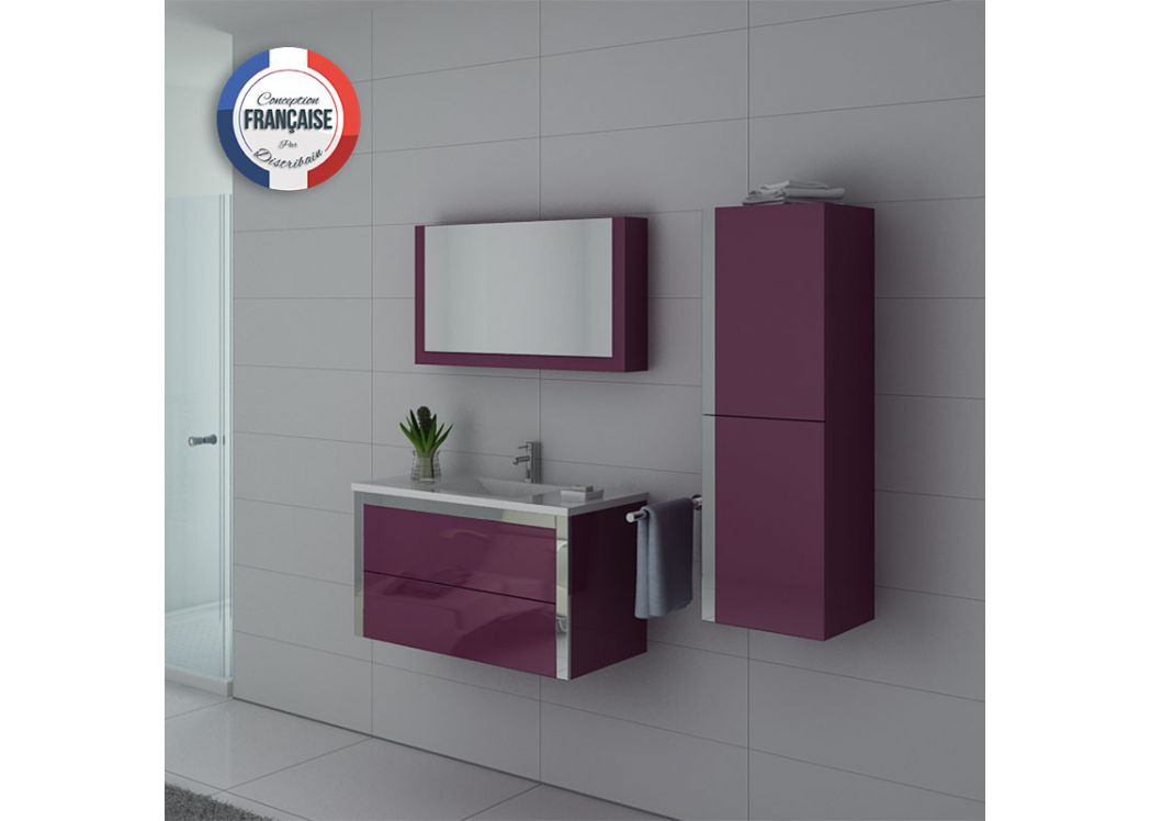 meuble salle de bain 1 vasque dis025 900au meuble salle de bain mobilier de salle de bain. Black Bedroom Furniture Sets. Home Design Ideas