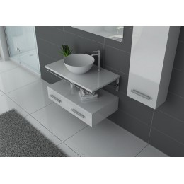 VIRTUOSE B ensemble simple vasque Blanc