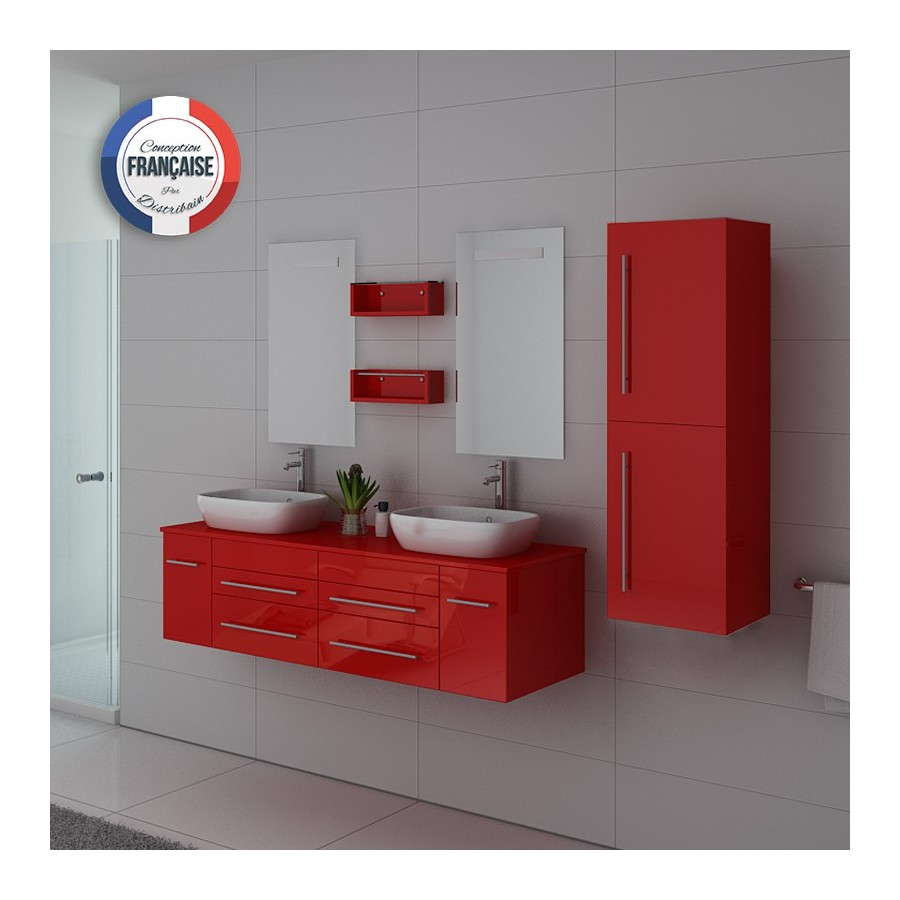 dis748co meuble salle de bain coquelicot. Black Bedroom Furniture Sets. Home Design Ideas