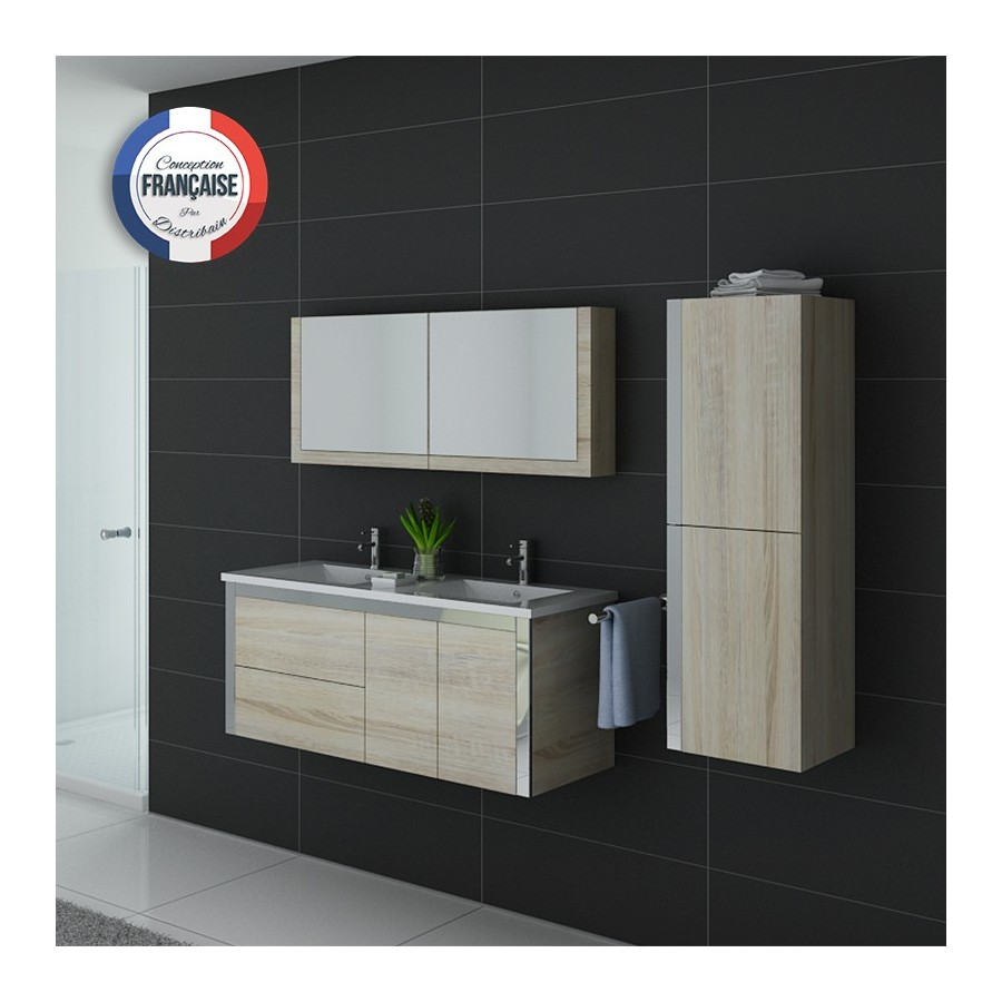 meuble salle de bain scandinave dis025 1200sc. Black Bedroom Furniture Sets. Home Design Ideas