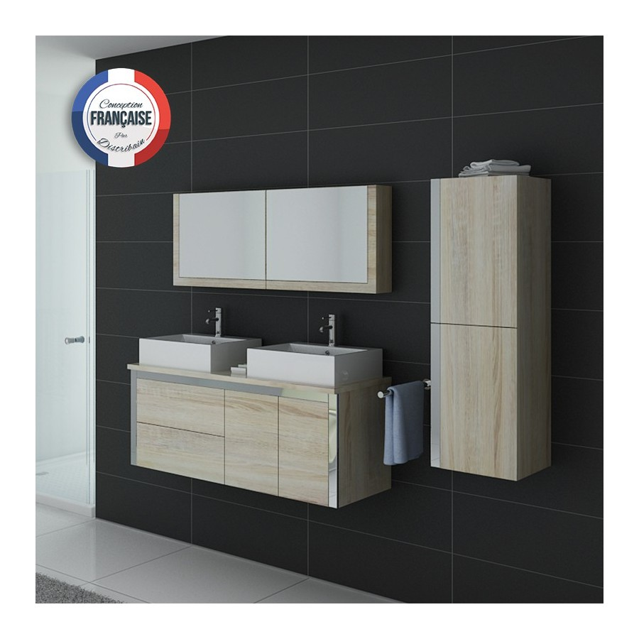 meuble salle de bain scandinave dis026 1300sc. Black Bedroom Furniture Sets. Home Design Ideas