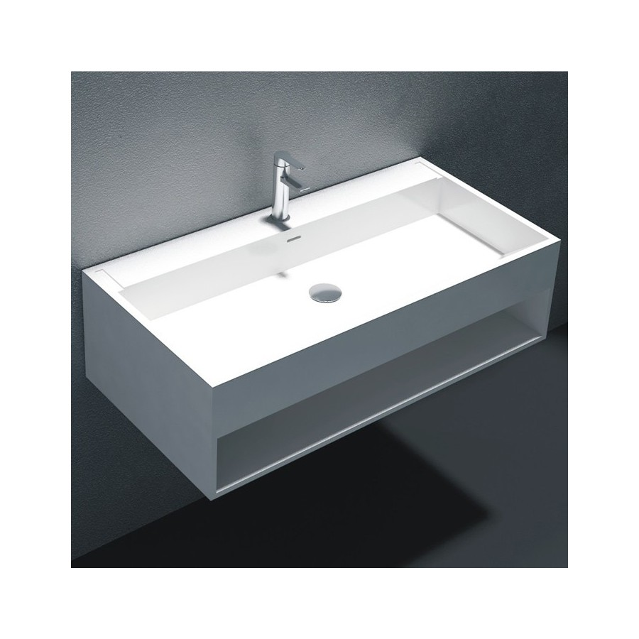 Plan vasque solid surface Réf : SDWD38160