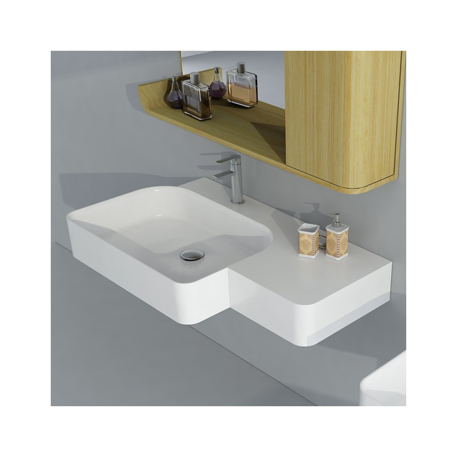SDWD38186 Plan vasque original en solid surface