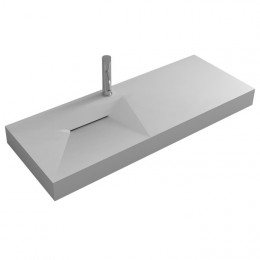 Large plan vasque en solid surface SDWD38428