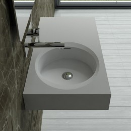 Plan vasque en solid surface SDBK800