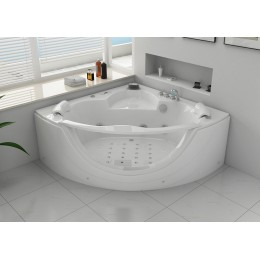 Rio 2 Baignoire balneo d'angle whirlpool 32 jets
