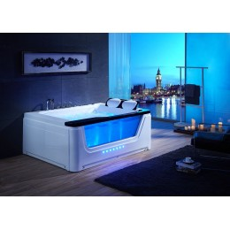 baignoire massante pour 2 personnes avec hublot panama. Black Bedroom Furniture Sets. Home Design Ideas
