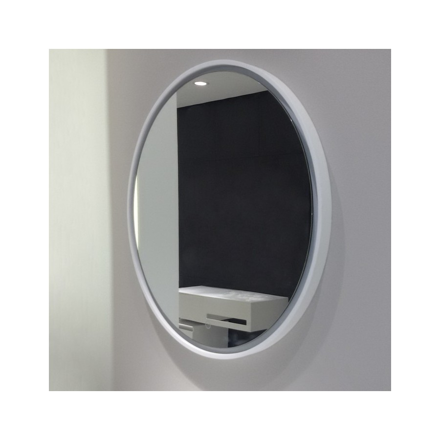 miroir rond sdwd2609 2 avec clairage leds. Black Bedroom Furniture Sets. Home Design Ideas