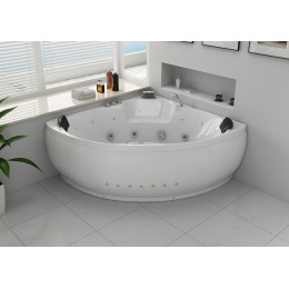baignoire balneo d'angle 32 jets 2 places California 2