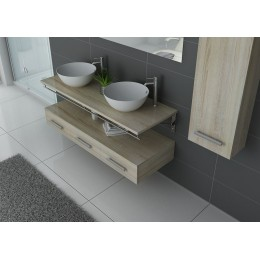 Ensemble de salle de bain 2 vasques VIRTUOSE DUO Scandinave