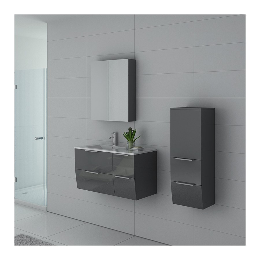 parme gt meuble salle de bain gris taupe. Black Bedroom Furniture Sets. Home Design Ideas