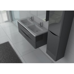 TREVISE GT Ensemble double vasque gris