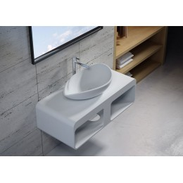 Plan de toilette avec vasque design  SDK52 + SDV20
