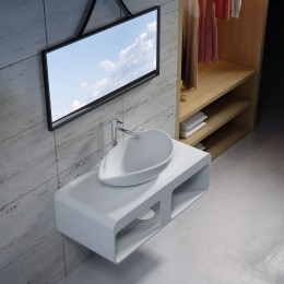 Ensemble plan de toilette et vasque ultra design  SDK52+SDV20