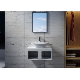 Ensemble plan de toilette et vasque SDK54+SDV33