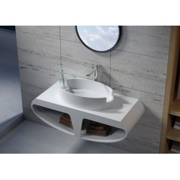 Plan de toilette et vasque SDK51+SDV70