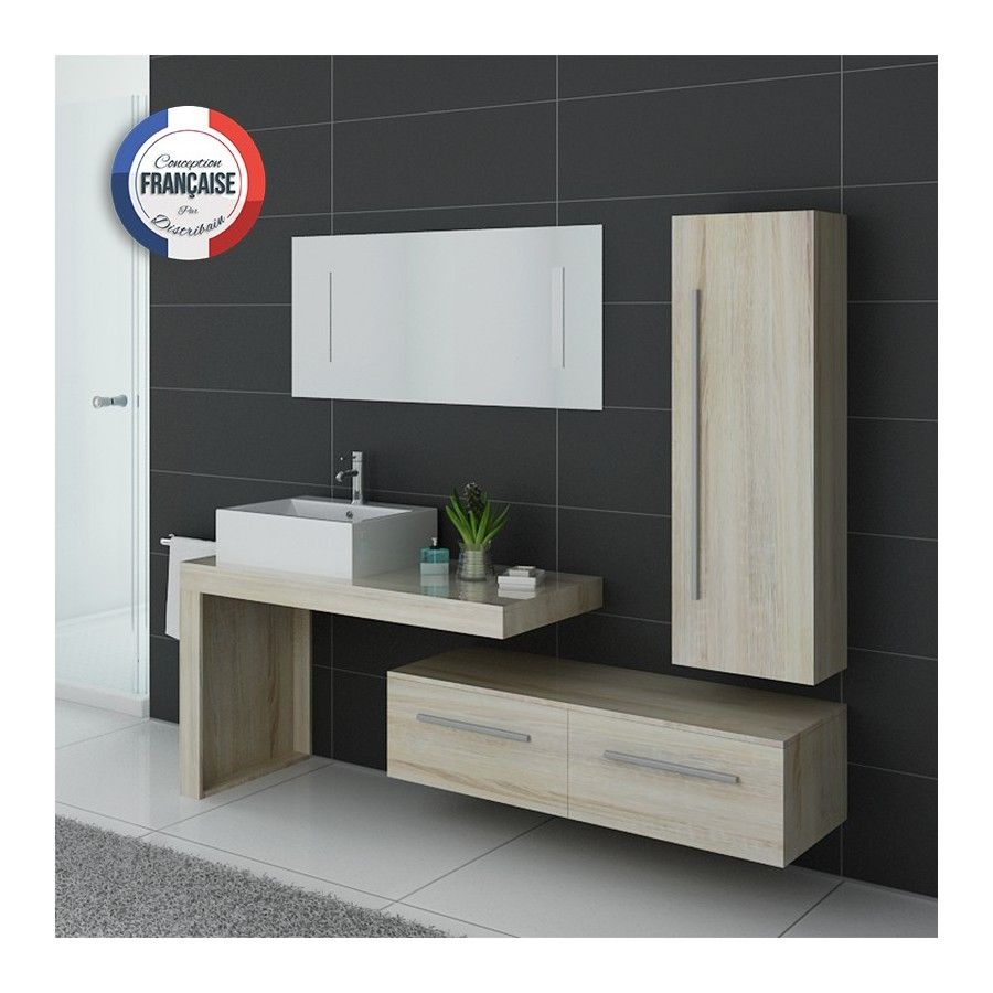 dis9250sc meuble salle de bain scandinave. Black Bedroom Furniture Sets. Home Design Ideas