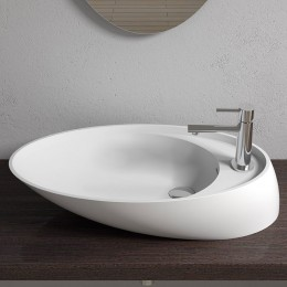 Vasque ultra design en solid surface, SDV38