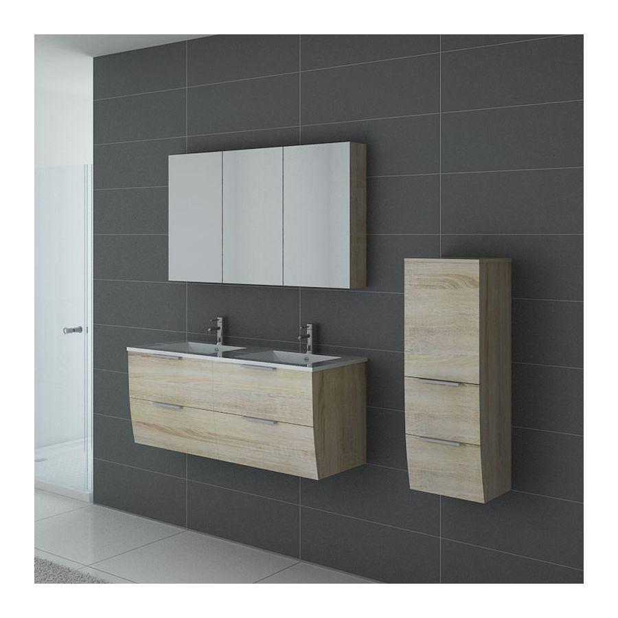 meubles de salle de bain livourne scandinave. Black Bedroom Furniture Sets. Home Design Ideas
