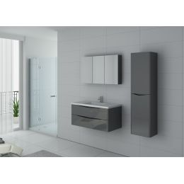 TREVISE 1000 GT ensemble 1 vasque gris taupe