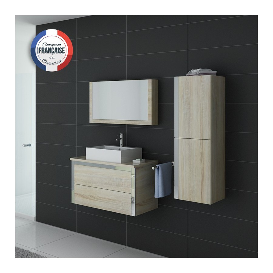 dis026 900sc meuble salle de bain scandinave. Black Bedroom Furniture Sets. Home Design Ideas