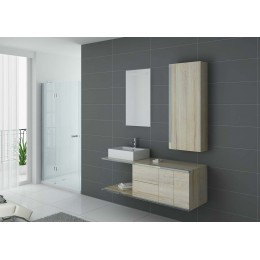 DIS9450SC Meuble salle de bain simple vasque scandinave