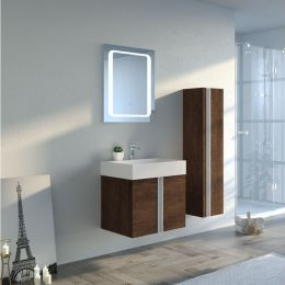 Meuble simple vasque Boreal 600