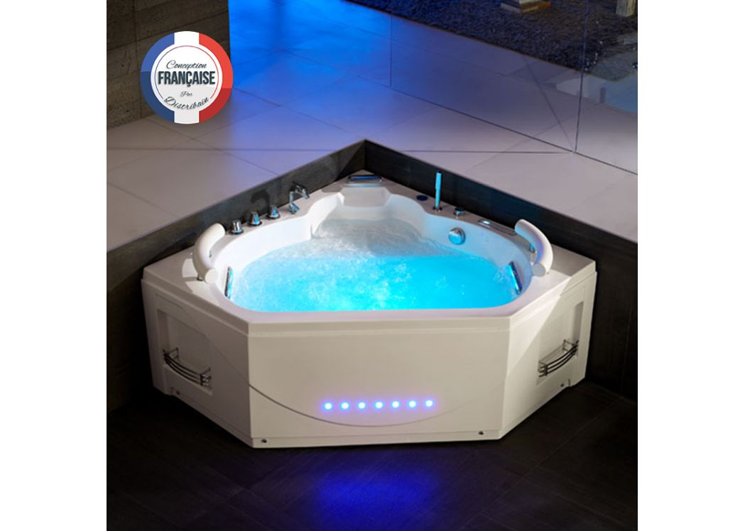 Emejing Dimension Jacuzzi Salle De Bain Images - Design Trends 2017 ...