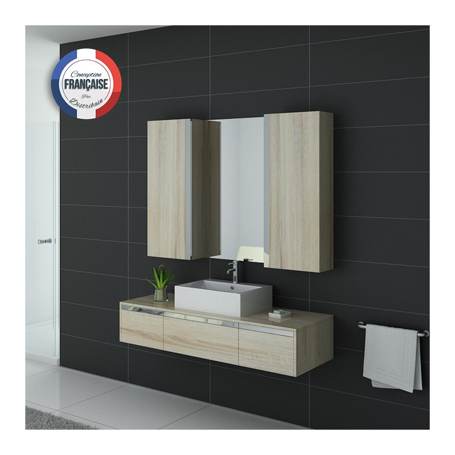 dis9650sc meuble salle de bain scandinave. Black Bedroom Furniture Sets. Home Design Ideas