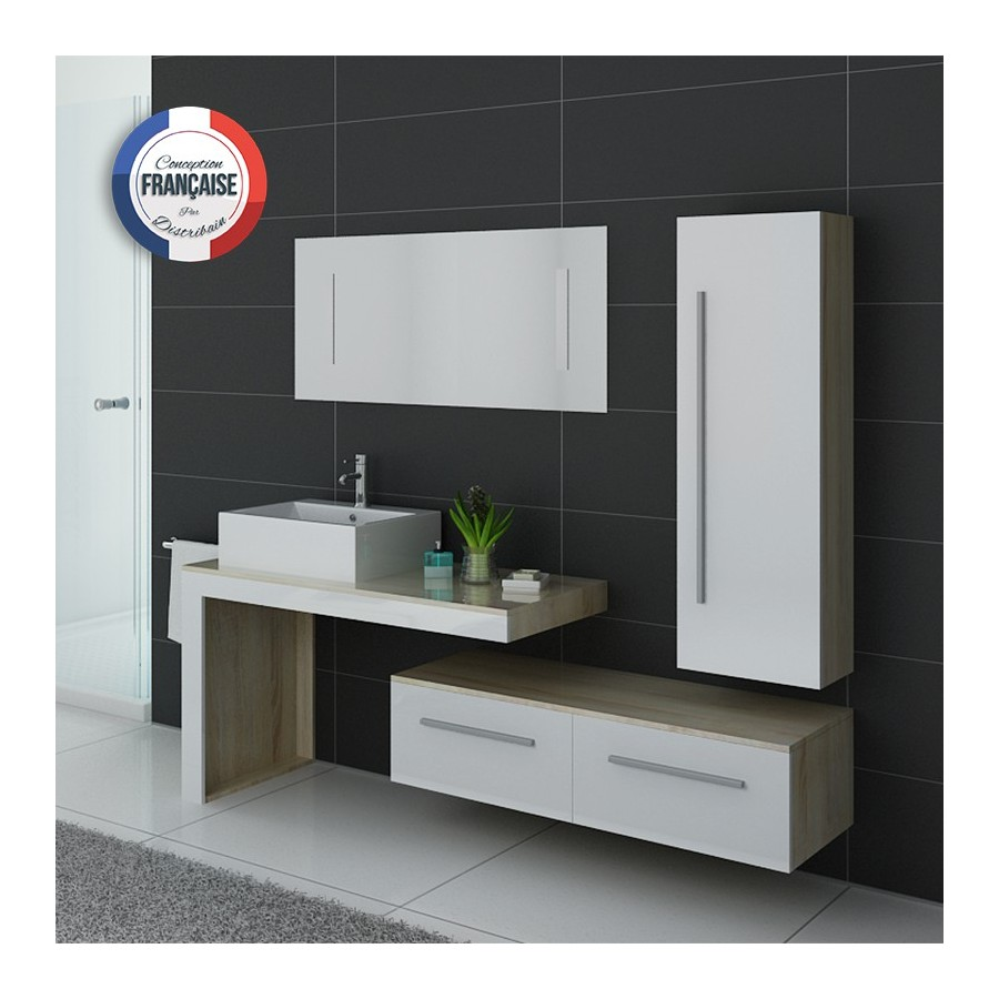 dis9250sc b meuble salle de bain scandinave blanc. Black Bedroom Furniture Sets. Home Design Ideas