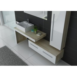 DIS9250SC-B Ensemble simple vasque scandinave-blanc